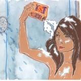 soda bikarbona - smrt šamponu, svoboda lasem