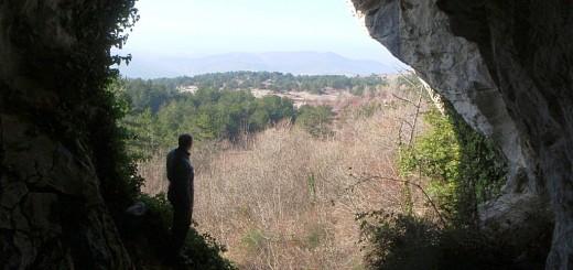Pogled iz Ladrice preko nekdanjega kraškega polja in Tinjana do Kopra in še dlje (foto: Tomaž Petek)