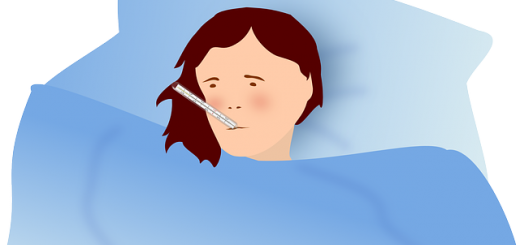 Naravno zbijanje vročine pri otroku