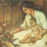 Mati, bombon materinskega dne