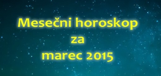 Mesečni horoskop za marec 2015
