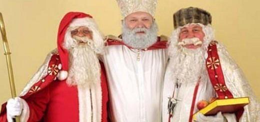 Miklavž, Božiček in Dedek Mraz