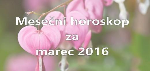 Mesečni horoskop za marec 2016