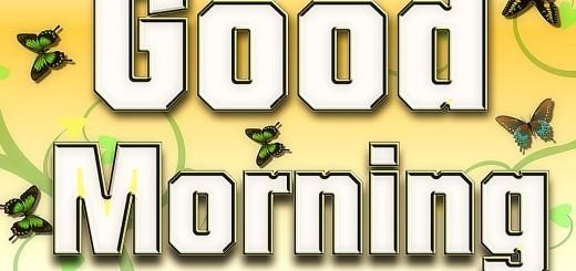 Najlepše misli za dobro jutro