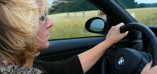 Nerodna ženska za volanom