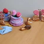 Ustvarjanje z najmlajšimi – ustvarjanje s slanim testom
