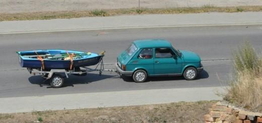 Vožnja avtoprikolice za začetnike