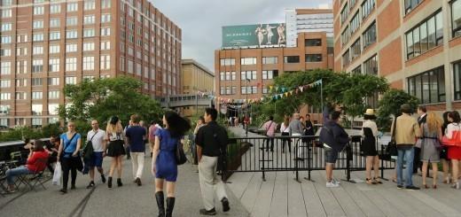 Znameniti urbani park High Line v New Yorku