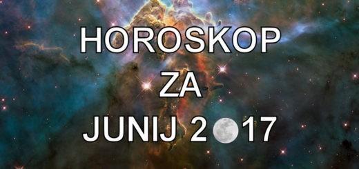 Mesečni horoskop za junij 2017