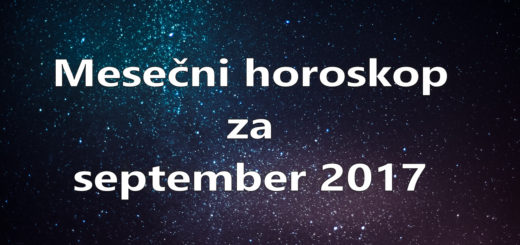 Mesečni horoskop za september 2017