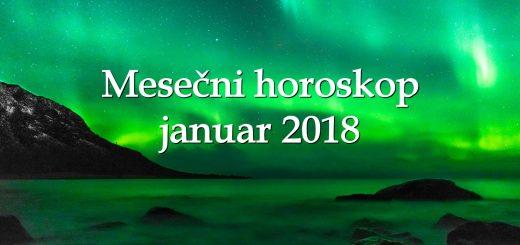 Mesečni horoskop januar 2018