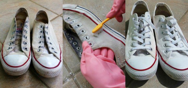 Kako ucinkovito ocistiti (bele) cevlje