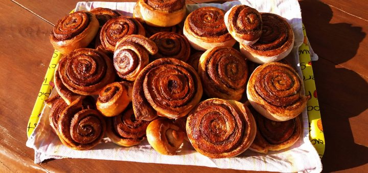 Kanelbullar – švedski cimetovi kolački